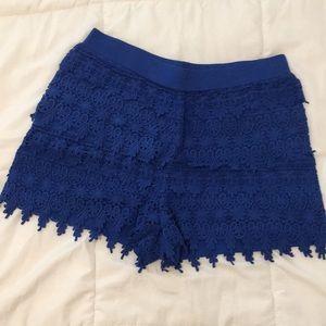 Express Lace Shorts